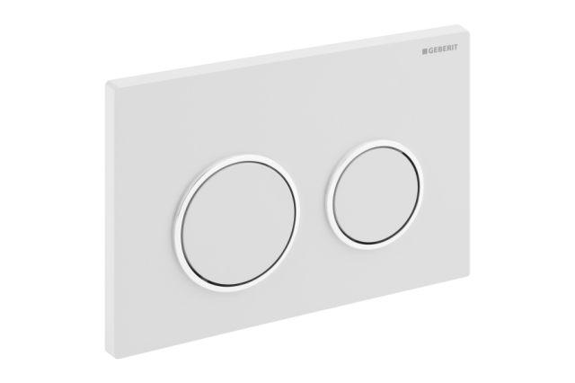 abdeckplatte kappa21 geberit f r 2 mengen sp lung f r. Black Bedroom Furniture Sets. Home Design Ideas