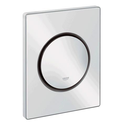 abdeckplatte nova cosmopolitan grohe f r unterputz urinal drucksp ler weiss. Black Bedroom Furniture Sets. Home Design Ideas