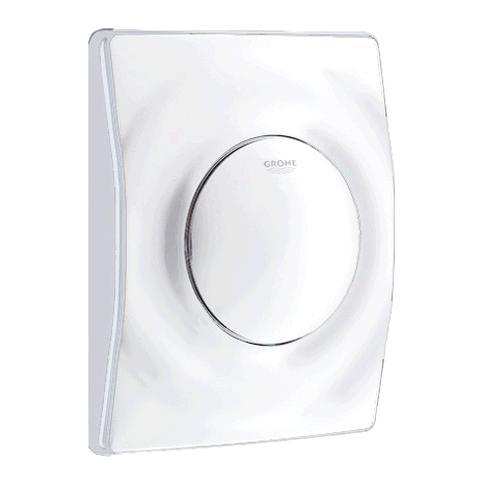 abdeckplatte surf grohe neu f r unterputz urinal drucksp ler weiss. Black Bedroom Furniture Sets. Home Design Ideas