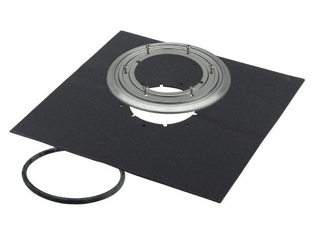 abdichtungsflansch viega advantix 145 mm f r aufstockelement bodenablauf 4998 3. Black Bedroom Furniture Sets. Home Design Ideas
