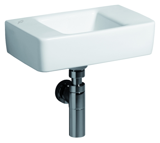 handwaschbecken renova nr 1 plan keramag 40 x 25 cm ohne hahnloch ohne berlauf weiss. Black Bedroom Furniture Sets. Home Design Ideas