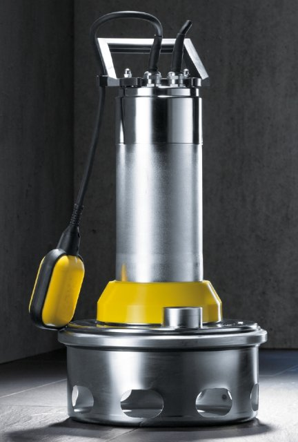 schmutzwasserpumpe ksb ama drainer a 405 sd 35 mit schwimmerschalter. Black Bedroom Furniture Sets. Home Design Ideas