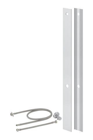 umbauset geberit f r aqua clean wc aufs tze monolith aluminium geb rstet bh 101 cm. Black Bedroom Furniture Sets. Home Design Ideas