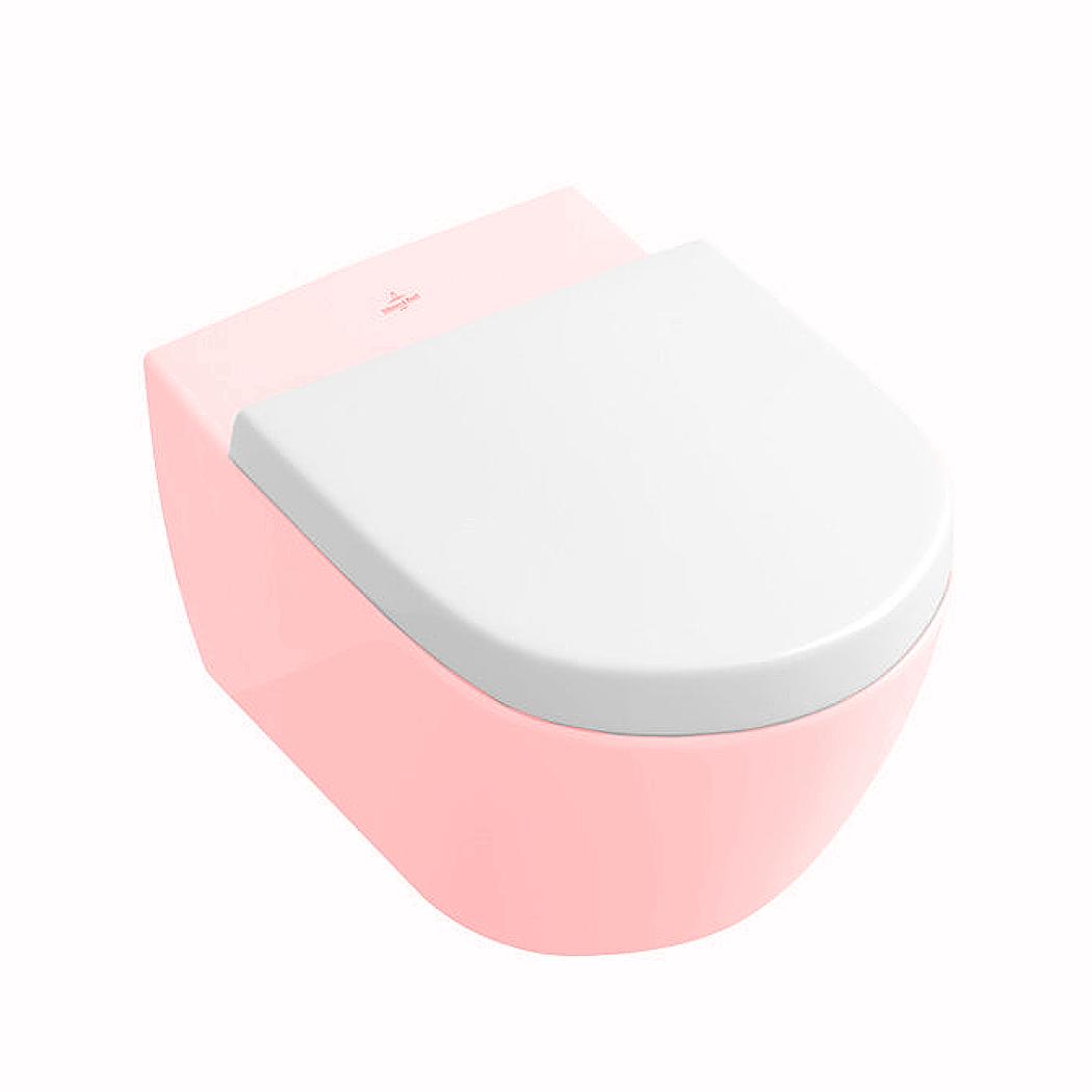 Villeroy + Boch 2.0 WC-Sitz compact, weiß