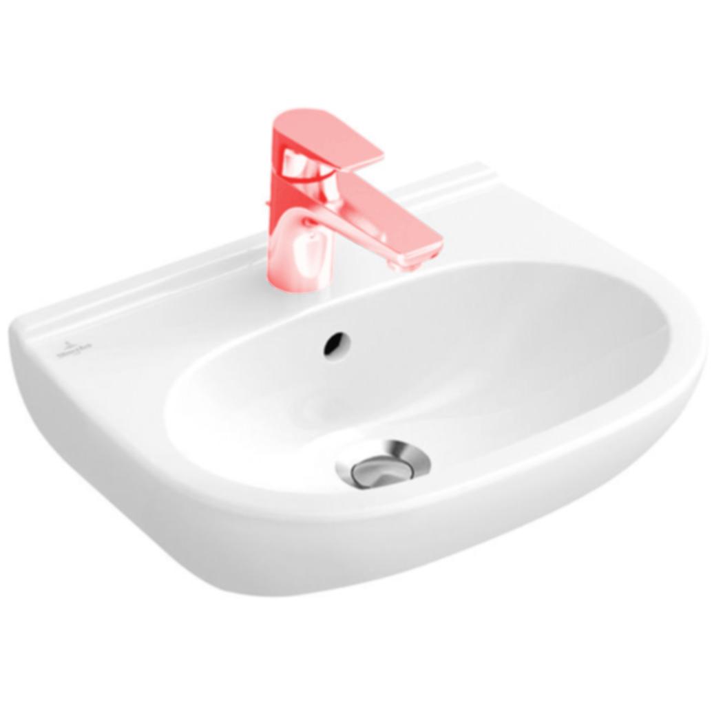 Villeroy + Boch O.novo Waschtisch compact, weiß