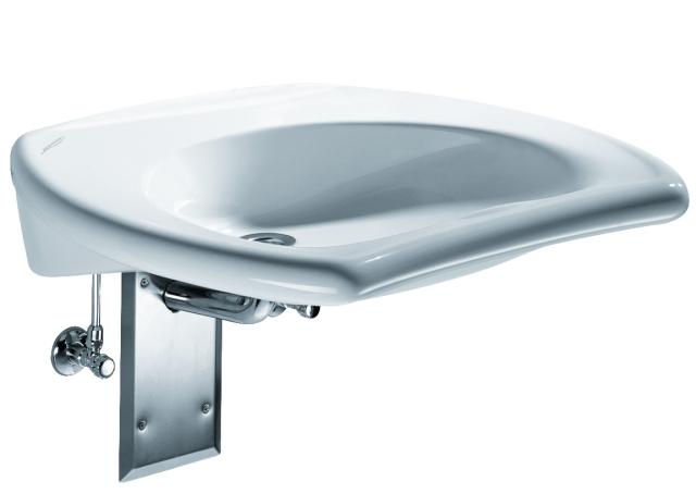 waschtisch vitalis keramag 65 x 60 cm ohne berlauf weiss. Black Bedroom Furniture Sets. Home Design Ideas