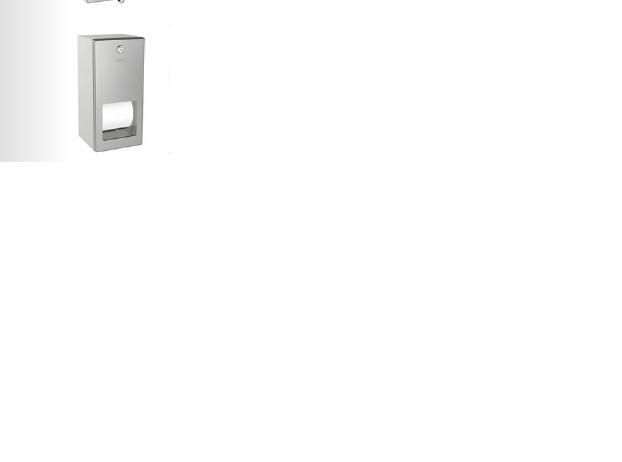 wc papierhalter chronos franke edelstahl matt mit deckel f r 1 rolle. Black Bedroom Furniture Sets. Home Design Ideas