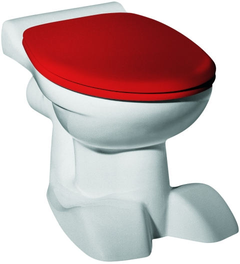 geberit keramag wc sitz kind mit deckel rot scharniere. Black Bedroom Furniture Sets. Home Design Ideas